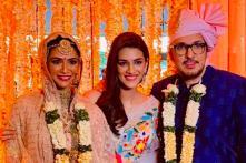 Stree Producer Dinesh Vijan Gets Married; Kriti Sanon, Kartik Aaryan Attend Festivities