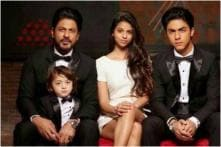 AbRam is Enough Good Looking to be a Rockstar, Says Shah Rukh Khan