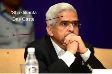 Indians are Searching for 'Shaktikanta Das Caste' on Google After Announcement of New RBI Governor