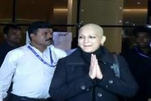 Sonali Bendre Returns to Mumbai, Husband Says 'Done With Treatment for Now'