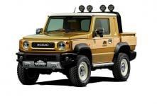 New Suzuki Jimny Pickup Style Concept Revealed