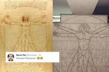 A Mumbai Condo Gave Some 'Cover' to One Of Leonardo Da Vinci's Most Famous Drawings