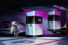 Volkswagen Reveals First Glimpse of Mobile Electric Vehicle Charging Station
