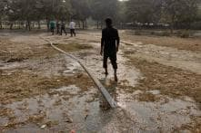 Post the Ban in Noida Park, Those Who Turned Up For Friday Prayers Found the Ground Waterlogged