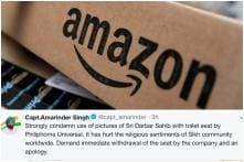 Amarinder Singh Joins Outrage Against Doormats, Rugs with Golden Temple Image for Sale on Amazon