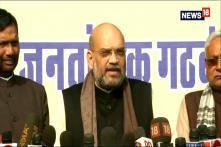 Amit Shah Announces Bihar Seat-Sharing Deal
