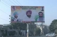 In Amarinder vs Sidhu, Congress Leaders Show Whose Side They're on With Hoardings