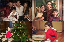 Merry Christmas: Bollywood's Little Santas Take Over Social Media, See Pics