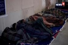 Delhi Cold Wave: Homeless People Flock To Night Shelters