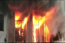 Fire Breaks Out At a Cloth Factory in Bhiwandi, Maharashtra