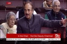 Rajya Sabha Adjourned After AIADMK Protests, Ghulam Nabi Azad Says Oppn Can't be Blamed