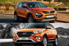 Tata Harrier vs Hyundai Creta 2019 SUV Spec Comparison – Prices, Features and More