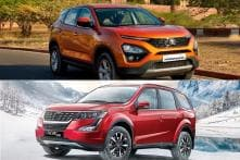 Tata Harrier Vs Mahindra XUV 500 Premium SUV Spec Comparison - Features, Engine and More