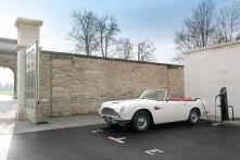 Aston Martin Develops Reversible EV Conversion Solution for Brand's Heritage Models