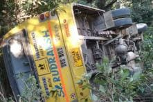 35 Students on Way to Attend PM's Rally in Dharamshala Injured as Bus Overturns