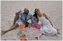 Saif Ali Khan, Kareena Kapoor Khan and Taimur Look Adorable on Beach Holiday in Cape Town, See Pics