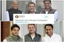 Rajasthan and MP Done, Twitter Wants Rahul to Post Photo with Chhattisgarh CM