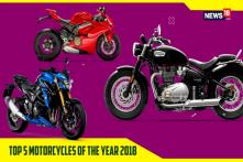 Top 5 Motorcycles of the Year 2018