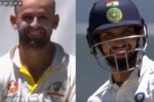 Nathan Lyon Turning into Part-Time Umpire For Ishant Sharma Has Everyone in Splits