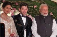 Priyanka Chopra-Nick Jonas' Delhi Wedding Reception: Couple Poses With PM Modi