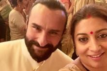 Have You Read What Saif Ali Khan Told Smriti Irani When She Moved to Mumbai 23 Years Ago?