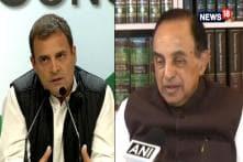 Let Rahul Give Guru Dakshina To Modi: Subramanian Swamy