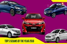 Top 5 Sedans Of The Year 2018