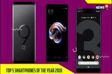 Top 5 Smartphones of the Year 2018