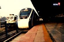 Train 18 On Its Test Run Reaches Prayagraj