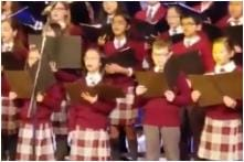 Video of Canadian School Children Singing 'Om Jay Jagdish' at Christmas Will Warm your Heart