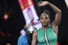 Serena Williams Edges Top Seed Simona Halep to Keep Australian Open Title Hopes Alive