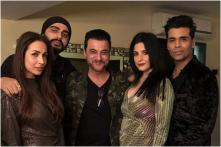 Arjun Kapoor and Malaika Arora Party Together on New Years Eve With Karan Johar and Sanjay Kapoor, See Pic
