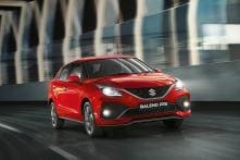 Maruti Suzuki Baleno RS Facelift Launched in India for Rs 8.76 Lakh