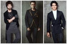 Koffee With Karan: KJo, Shahid Kapoor & Ishaan Khatter Flaunt Monochrome Fad Looking Suave