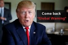 Donald Trump Does Not Understand How Global Warming Works, Or How To Spell It