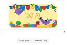 Happy New Year 2019: Google Doodle Kicks Off January 1 Celebrations With 'Party Animals'