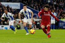 Mohamed Salah Penalty Keeps Liverpool's Premier League Dreams Alive