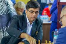 Viswanathan Anand Draws With Ding Liren; Joint Third Now