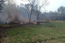 IAF's Jaguar Fighter Jet Crashes in Uttar Pradesh's Kushinagar, Pilot Ejects Safely