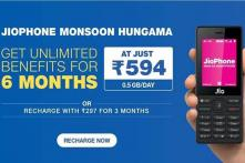 Reliance Jio Introduces Rs 594 And Rs 297 Long Validity Prepaid Plans For JioPhone Users