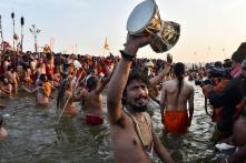 30 Lakh Ganga Sagar Pilgrims Take Holy Dip on Makar Sankranti