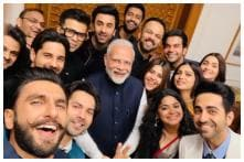 Karan Johar's Epic Selfie With Narendra Modi has Ranveer, Ranbir, Varun and Alia