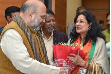 Actress Moushumi Chatterjee Joins BJP Just Months Ahead of Lok Sabha Polls