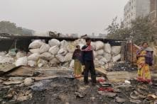 Noida Fire Leaves Hundreds Homeless, Their Life Savings and IDs Reduced to Ashes