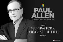 Paul Allen's 8 Mantras for a Successful Life