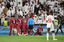 Qatar Thrash UAE Amid Ugly Scenes to Reach Asian Cup Final