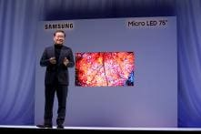 CES 2019: Samsung's MicroLED Could be The Future of LED TVs