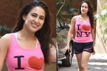 Sara Ali Khan Spotted Post Her Workout Session! See Pictures