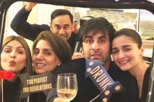 All Heartbeats in These, Says Neetu Kapoor as She Shares Family Photo with Ranbir and Alia