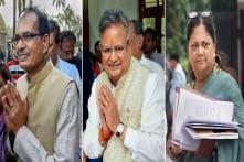 BJP Appoints Shivraj Singh Chouhan, Vasundhara Raje and Raman Singh as Party Vice Presidents